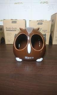 🚚 Navo 貓頭鷹陶瓷窩
