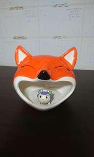 🚚 狐狸陶瓷窩(黃金鼠適用)