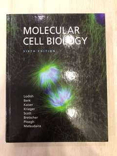 Molecular Cell Biology, 6th Edition