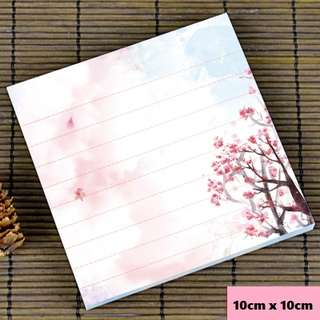 Beautiful sakura blossoms scenic / watercolour notepad #4