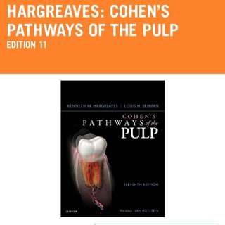 Dentistry Cohens pathway of the pulp 11E endodontics