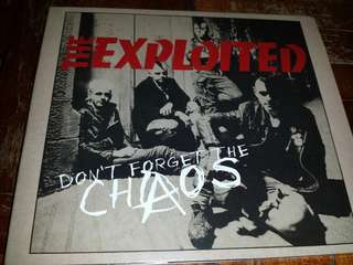Music CD: The Exploited–Don't Forget The Chaos - UK Punk Band