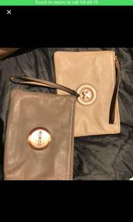 Mimco medium pouch, brown one