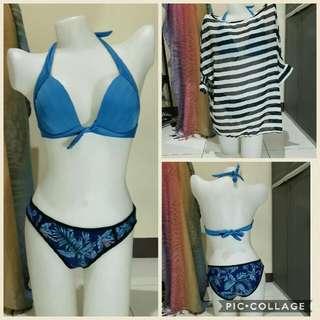 M-L two piece swimwear