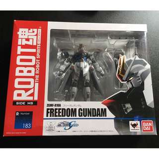 ROBOT魂 機動戦士ガンダムSEED [SIDE MS] フリーダムガンダム 約140mm ABS&PVC製 塗装済み可動フィギュア