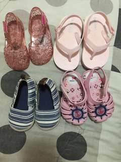 All in Zaxy, H&M, Old Navy Sandals 12-18months