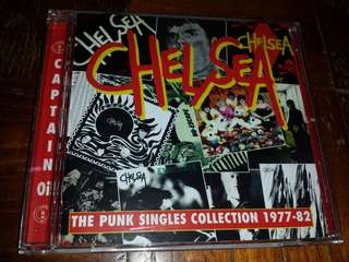 Music CD: Chelsea –The Punk Singles Collection 1977-82 - Classic UK Punk Band