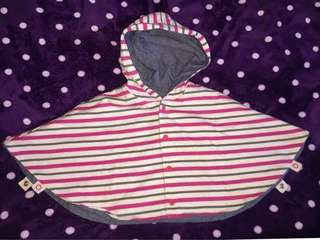 2 way Hooded Sweater 2-4T