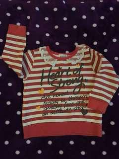 Girl sweater 2-3T