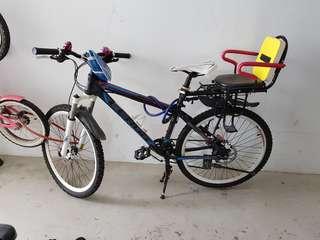 "26"" 27 speed mountain bike, hydraulic disc brake"