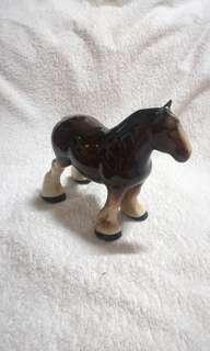 Vintage Melba Ware Shire Horse Figurine