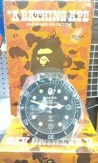 Bathing Ape 時鐘