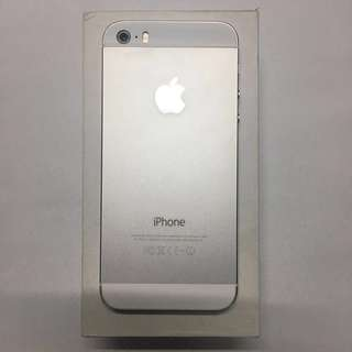 iphone 5s 32gb silver 📱