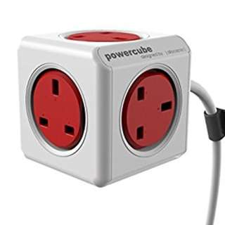 Allocacoc Powercube Extension Wire 5 SOCKETS - 1.5 / 3 meter