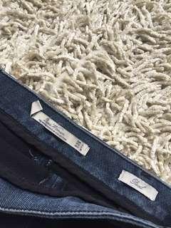 ZARA Pencil Denim Skirt