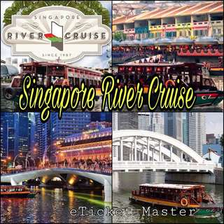 SINGAPORE RIVER CRUISE ETICKET