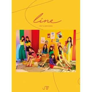 [Pre-Order] UNI.T 유니티 FIRST MINI ALBUM - LINE (1ST 미니앨범)