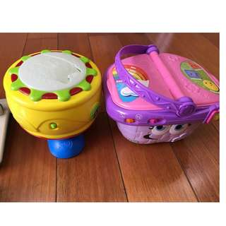 vtech leapfrog with freebies