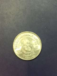 Thailand commemorative coin , AU