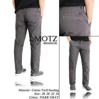Celana chino panjang MOTZ ORIGINAL