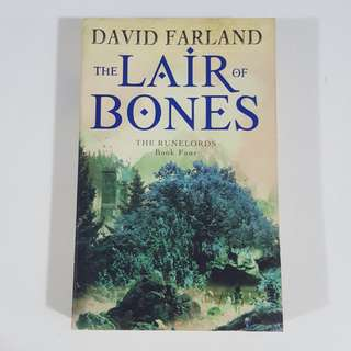 The Lair of Bones (The Runelords, #4) by David Farland