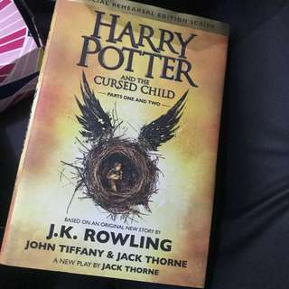 Harry Potter and the Cursed Child Special Rehearsal Edition Script