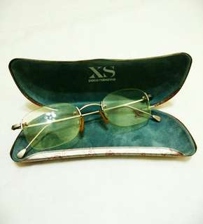 Auth Paco Rabanne XS Rimless Glasses