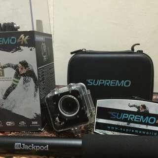 Supremo4k Action Cam