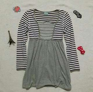 Longsleeves Skater Dress