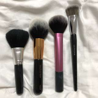 Authentic MKUP, Sephora, Real Techniques Brushes