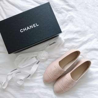 CHANEL Espadrilles New Biege Color
