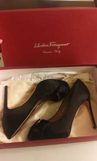 Salvatore Ferragamo Silk Shoes高跟鞋