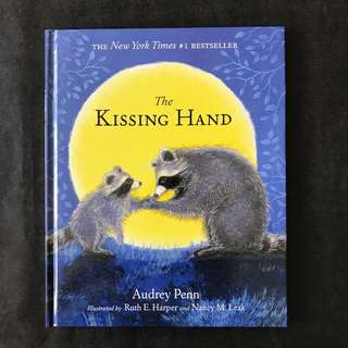💥 NEW - #1 Best Seller The Kissing Hand - Children Story Book