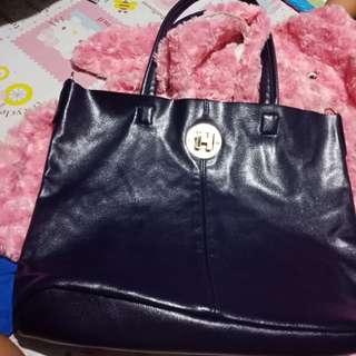 Inspired hermes leather bag