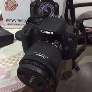 Canon EOS 700D with WIDE and MACRO LENS and more