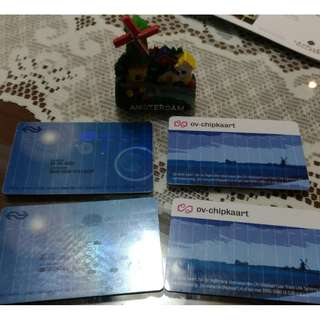荷蘭 OV卡 交通卡  火車鐵路 晶片卡 OV  加送法國巴黎地鐵圖