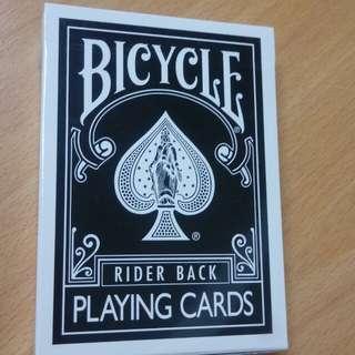 單車撲克牌-Bicycle Rider Back By JL 黑白背