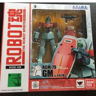ROBOT魂 GM 吉姆 gundam 機動戦士ガンダム [SIDE MS] RGM-79 ジム ver. A.N.I.M.E. 約125mm ABS&PVC製 塗装済み可動フィギュア