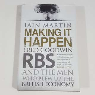 Making It Happen by Iain Martin [Hardcover]