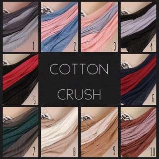 Latest Cotton Crush Maxi Shawl scarf hijab