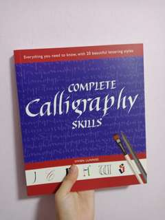 Complete calligraphy skills book