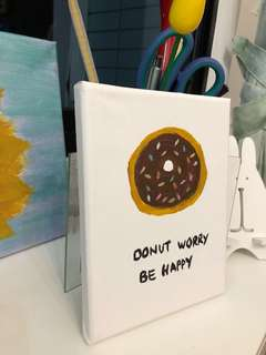Donut Canvas Painting :)