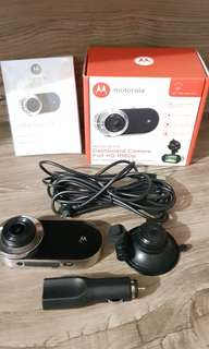 Motorola Dashboard Camera Full HD 1080P MDC100