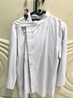 Baju koki size M + free apron