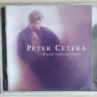 Peter Cetera, original CD with front back cover free local postage