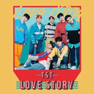 [Pre-Order] TST 일급비밀 SINGLE ALBUM - LOVE STORY (싱글앨범)