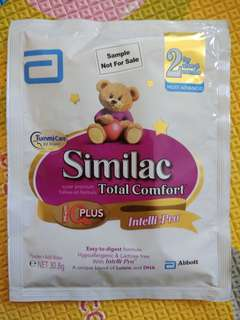 Similac Total Comfort Stage 2 Samples