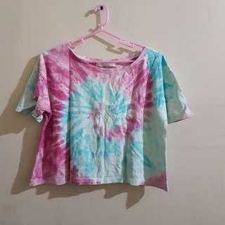 Tie-dye Crop Top
