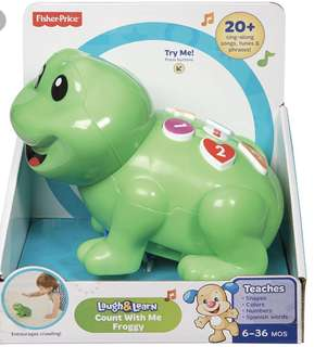 $28 BNIB Fisher Price Laugh & Learn Count With Me Froggy
