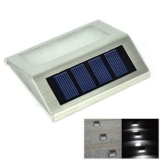 Solar Power Outdoor waterproof Garden Pathway Stairs Light